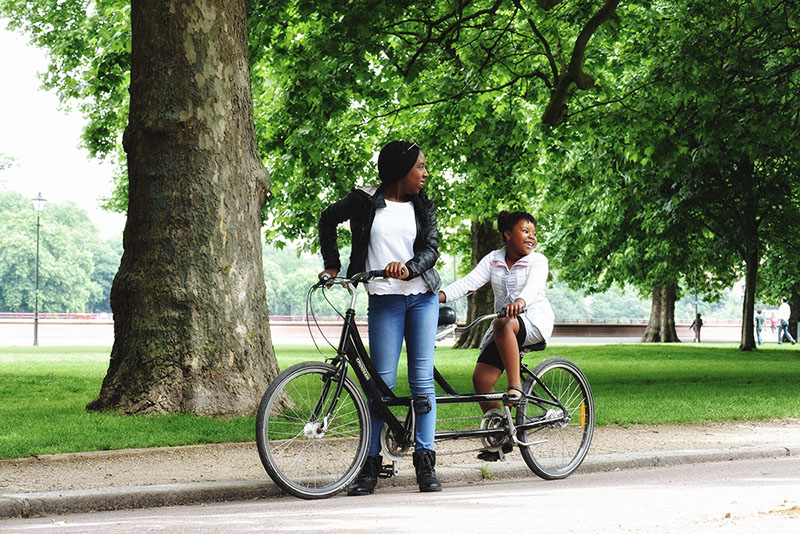 tandem at battersea park